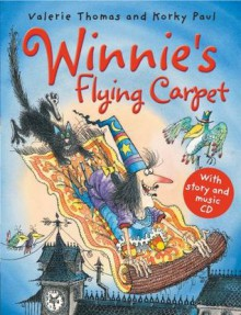 Winnie's Flying Carpet (Paperback with Audio CD) - Valerie Thomas, Korky Paul