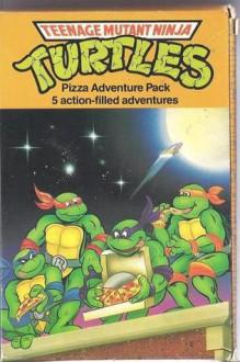 Pizza Adventure Pack: Buried Treasure/Sky High/Red Herrings/Six Guns And Shurikens/Teenage Mutant Ninja Turtles - Dave Morris