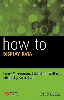 How to Display Data - Stephen Walters, Michael J. Campbell