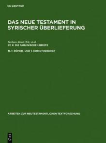 Romer- Und 1. Korintherbrief - Barbara Aland, Andreas Juckel