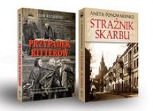 Przypadek Ritterów. Strażnik skarbu. Zestaw 2 książek - Aneta Ponomarenko; Adam Węgłowski