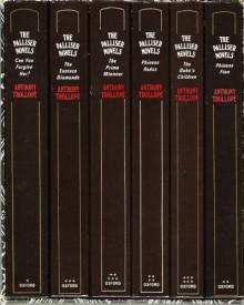The Palliser Novels (Six Volumes in 1 slipcase) - Anthony Trollope