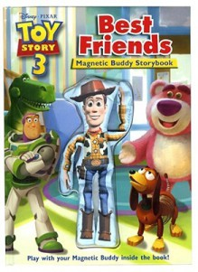 Toy Story 3 Best Friends Book and Magnetic Buddy (Disney Toy Story Buddy) - Chip Lovitt