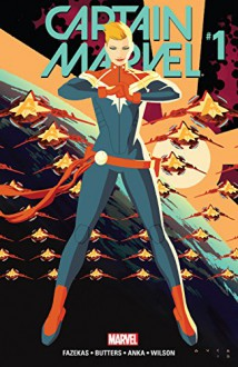 Captain Marvel (2016-) #1 - Michele Fazekas,; Tara Butters; Ryan Bodenheim,Kris Anka