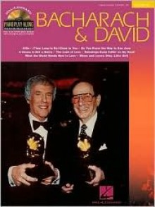 Bacharach and David: Piano Play-Along Series Volume 32 Book/CD Pack (Book & CD) - Burt Bacharach