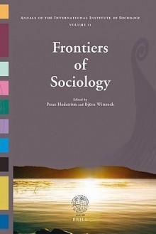 Frontiers of Sociology - Peter Hedstrom, Björn Wittrock