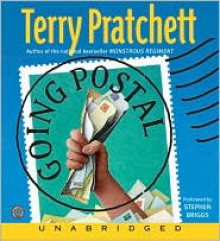 Going Postal (Discworld, #33) - Terry Pratchett,Stephen Briggs
