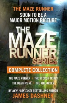 The Maze Runner Series Complete Collection - James Dashner