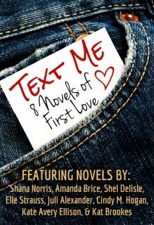 Text Me -- 8 novels of First Love - Shana Norris, Shel Delisle, Amanda Brice, Elle Strauss, Juli Alexander, Cindy M. Hogan, Kate Avery Ellison, Kat Brookes