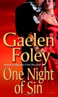 One Night of Sin - Gaelen Foley