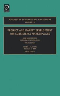 Adv Int Man Vol 20 - Rosa, José Rosa, Madhubalan Viswanathan