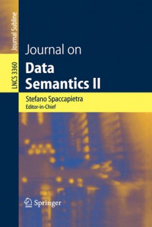 Journal on Data Semantics II - Stefano Spaccapietra