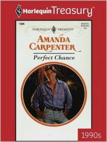 Perfect Chance - Amanda Carpenter