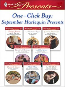 One-Click Buy: September 2008 Harlequin Presents - Penny Jordan, Michelle Reid, Carol Marinelli, Carole Mortimer