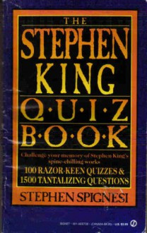 The Second Stephen King Quiz Book - Stephen J. Spignesi