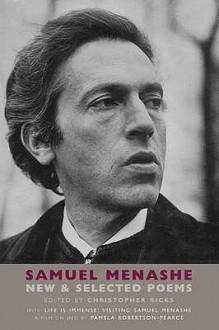 New And Selected Poems (Book & Dvd) - Samuel Menashe, Christopher Ricks, Pamela Robertson-Pearce