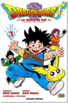 Dragon Quest, Tome 3 : - Riku Sanjo, Koji Inada, Fédoua Thalal, Sébastien Agogué