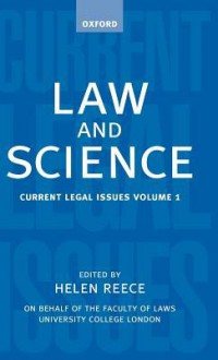 Law and Science: Current Legal Issues 1998 - Michael D.A. Freeman