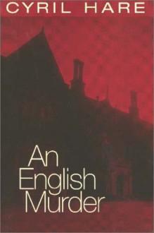 An English Murder - Cyril Hare