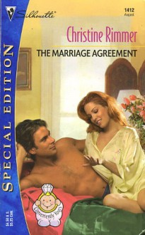 The Marriage Agreement (Bravo Family, #7) - Christine Rimmer