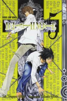 Death Note, Band 5: Weisses Papier - Tsugumi Ohba, Takeshi Obata