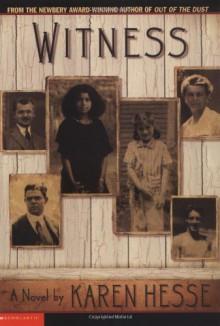 Witness - Karen Hesse