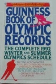 GUINNESS BOOK OF OLYMPIC RECORDS 1992 (Guinness Book of Olympic Records) - Guinness World Records, Stan Greenberg, Norris McWhirter
