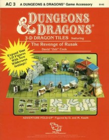 3 D Dragon Tiles: Featuring The Revenge Of Rusak (Dungeons & Dragons Accessory Ac3) - Dave Cook
