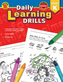Daily Learning Drills, Grade K - Brighter Child, Vincent Douglas, Brighter Child