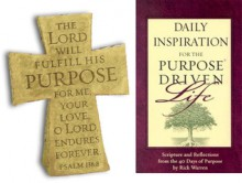 Daily Inspiration for the Purpose Driven Life (Book & Cross Gift Pack) - Rick Warren