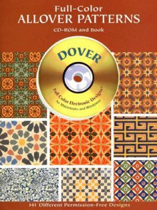 Full-Color Allover Patterns CD-ROM and Book - Dover Publications Inc.