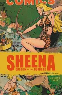 Golden Age Sheena: The Best Of The Queen Of The Jungle - Eisner/Iger Studios, Will Eisner