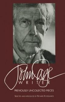 John Cage Writer - John Cage