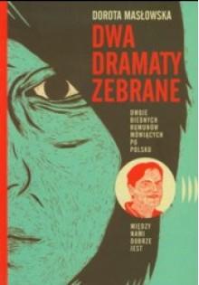 Dwa dramaty zebrane - Dorota Masłowska