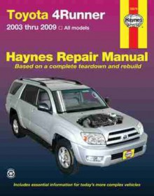 Toyota 4Runner, '03-'09 - John Haynes
