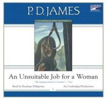 An Unsuitable Job for a Woman - Penelope Dellaporta, P.D. James