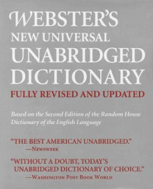 Webster's New Universal Unabridged Dictionary - Merriam-Webster
