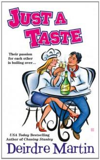 Just a Taste (New York Blades) - Deirdre Martin