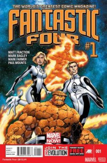 Fantastic Four #1 (Marvel NOW!) - Matt Fraction, Mark Bagley, Mark Farmer, Paul Mounts, Tom Brevoort