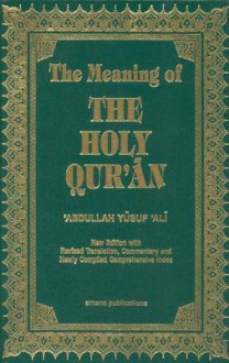 The Meaning of the Holy Quran - Anonymous, Abdullah Yusuf Ali