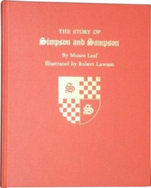 The Story of Simpson and Sampson - Munro Leaf