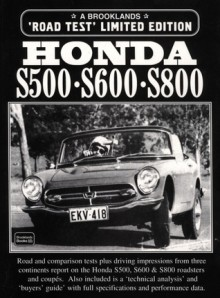 Honda S500 S600 S800 - R. Clarke