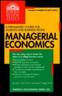 Managerial Economics - Jae K. Shim, Joel G. Siegel