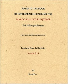 """Notes to """"The Books of Supplemental Diagrams"""" for Marco Knauff's Universe - Norman Lock"""