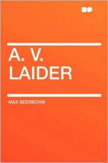 A. V. Laider - Max Beerbohm