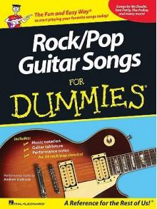 Rock/Pop Guitar Songs for Dummies - Andrew DuBrock, Hal Leonard Publishing Company
