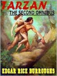 The Second Tarzan Omnibus: The Beasts of Tarzan; The Son of Tarzan; Tarzan and the Jewels of Opar - Edgar Rice Burroughs