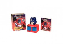 Transformers: Light-Up Optimus Prime Bust and Illustrated Book - Running Press