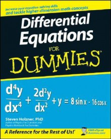 Differential Equations for Dummies - Steven Holzner
