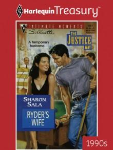 Ryder's Wife - Sharon Sala